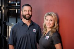 Owners Tim Ard and Miranda Ard