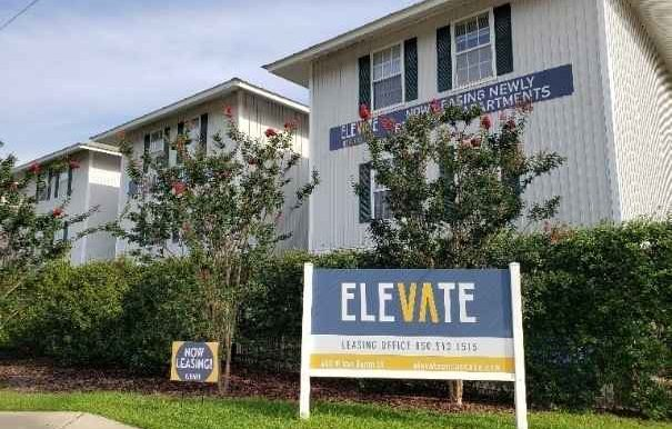 Elevate Sign and Buildings